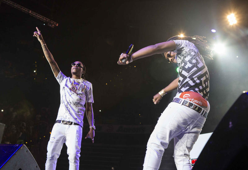 Migos performs during the Hot 107.9 Birthday Bash 20 at Philips Arena on Saturday, June 20, 2015, in Atlanta.