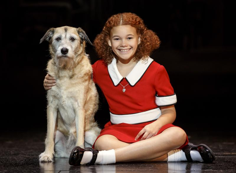 """Annie"" is at the Fox Theatre this weekend."