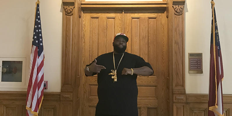 Killer Mike told the Senate he remembered visiting the state Capitol with a teacher when he was 14 years old.