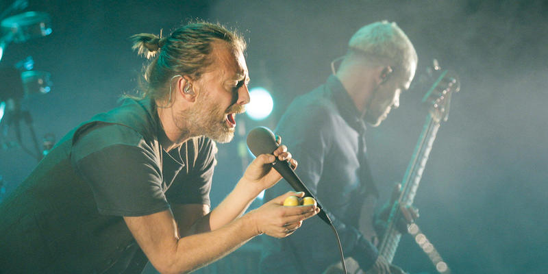 It's no April Fools joke, Radiohead is performing at Philips Arena on Saturday, April 1.