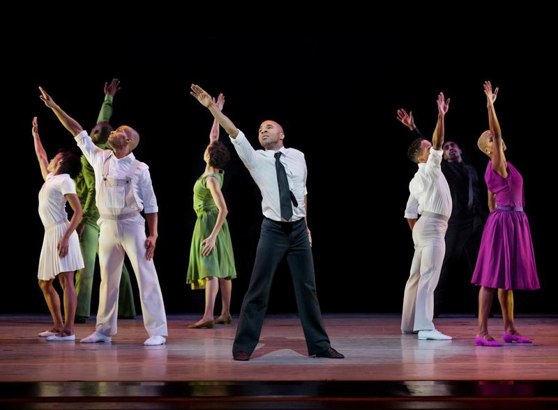 """Everyone should experience a night of unapologetic art"" by the Alvin Ailey dancers."