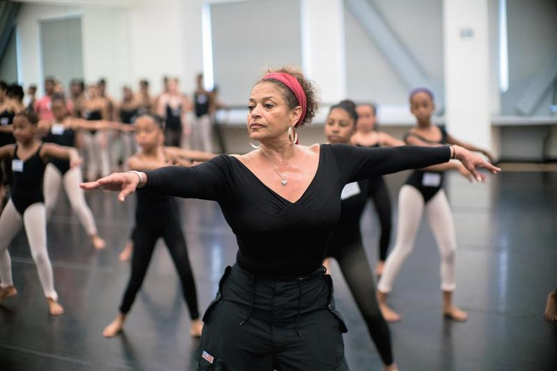 Even with her extensive stage and TV career, Debbie Allen teaches at her dance academy.