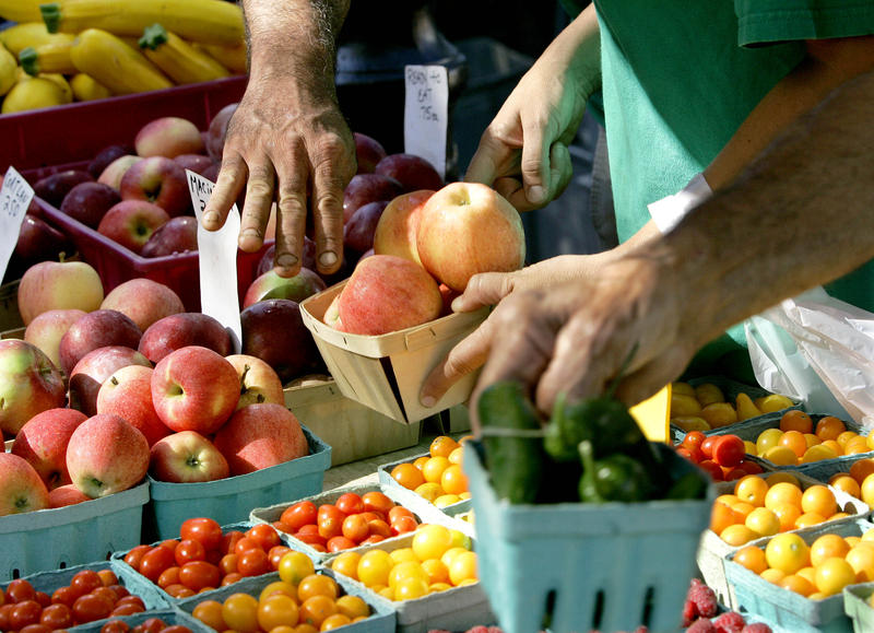 There are so many decisions to be made about food: For example, why aren't you supporting the local economy by buying real food at the farmer's market?