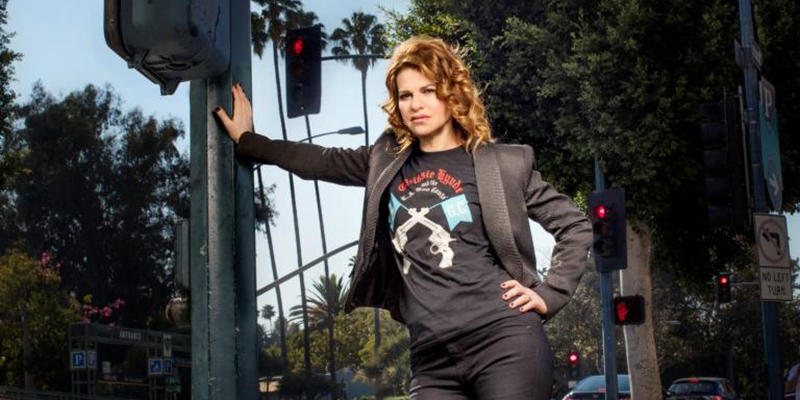 Sandra Bernhard is on the search for the soul of America in ''SANDRA MONICA BLVD: Coast to Coast.''