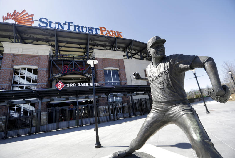Braves officials advised fans to buy their tickets and parking spots in advance, use its mobile apps to get to SunTrust Park and follow the signs when they arrive.
