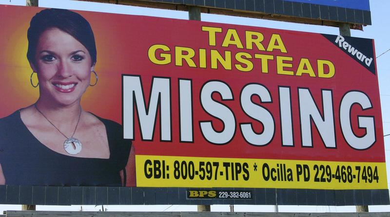 Tara Grinstead's body hasn't been found, but authorities have been searching for the body in a pecan orchard in Ben Hill County.