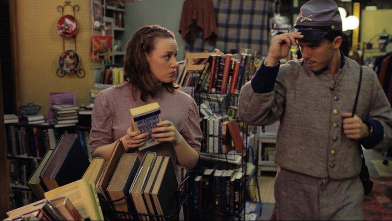 In the film, Sissy Carlyle takes care of her deceased parents' antiques shop and scribbles away in her 12 diaries about her fantasy lives.