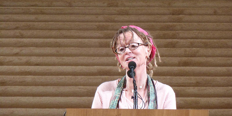 Anne Lamott's latest book is a collection of essays called ''Hallelujah Anyway: Rediscovering Mercy.''