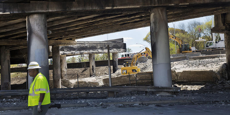 Physics professor Dr. Alfred Msezane looks at what it would take to rebuilding the I-85 bridge today on ''Closer Look.''