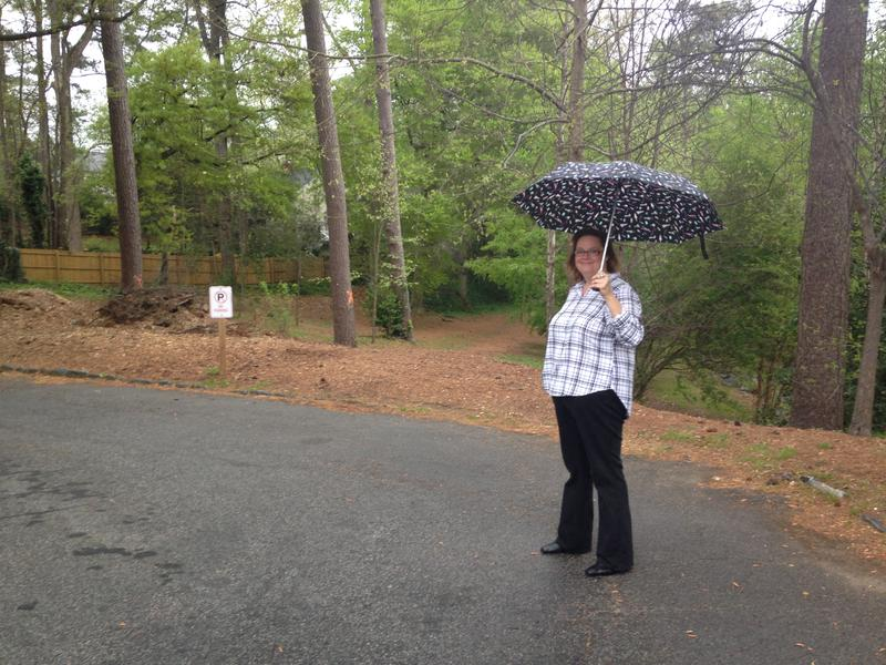 Laura Dobson, a Peachtree Hills resident, is trying to save a handful of trees in her neighborhood park.