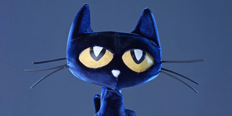 Born in the street festivals of Atlanta, the character of Pete the Cat is now back in a world premier show at the Center for Puppetry Arts.