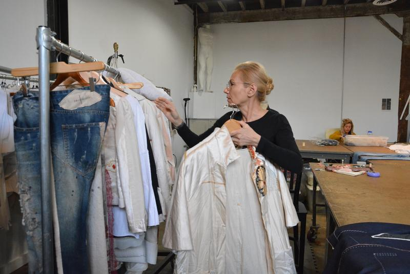 Zero Waste principals inspired Atlanta fashion designer Karen Glass' clothing line, which launched late last year.