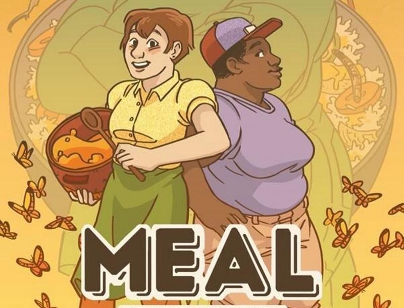 "With the help of AIR Serenbe, Serenbe's artist-in-residence program, comic artist and illustrator Blue Delliquanti is creating a graphic novel for young adults called ""Meal."""