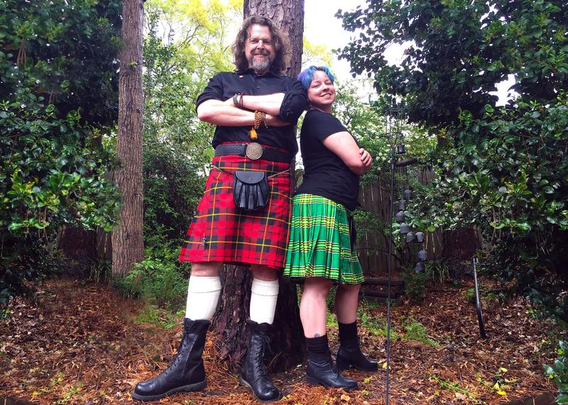 Rick Baldwin and Cheri Brown, co-hosts of the ''Life in a Kilt Podcast,'' are launching the first-ever kilt convention.