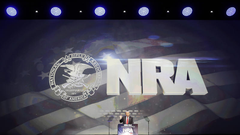 Jim Burress and Rose Scott give a news brief on how the National Rifle Association's annual convention gets underway tomorrow with President Donald Trump scheduled to speak.