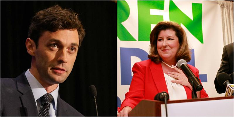 As of this weekend, about 94,000 people had voted early in the Georgia 6th Congressional District race between Democratic candidate John Ossoff and Republican candidate Karen Handel.