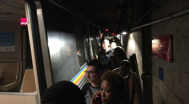 Riders say MARTA employees didn't provide much guidance after a train tunnel filled with smoke Thursday night.