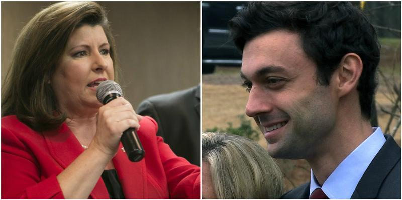 Karen Handel and Jon Ossoff are squaring off in a June 20 runoff to succeed former Congressman Tom Price.