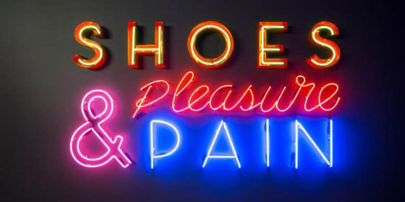 Erin Wright speaks with Rafael Gomes, the director of fashion exhibitions at the SCAD FASH Museum of Fashion and Film, and Rachel Evans, the museum's operations manager, about their current exhibit ''Shoes: Pleasure and Pain.''