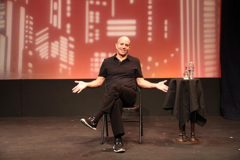 "Brad Zimmerman hilariously details his many years as a waiter in his one-man show ""My Son the Waiter: A Jewish Tragedy,"" which runs through June 18 at 7 Stages."