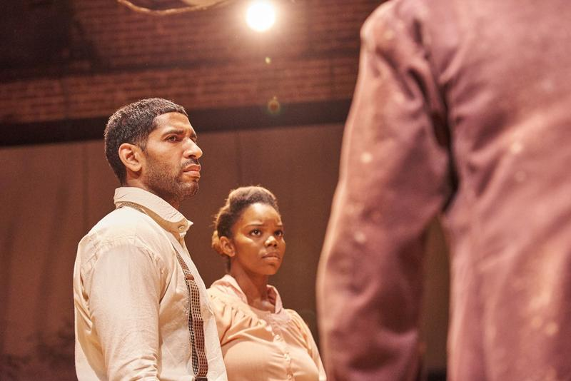 Actors Eric Cleaver and Brittany Inge play Hero and Penny in Suzan-Lori Parks' play ''Father Comes Home From The Wars.''
