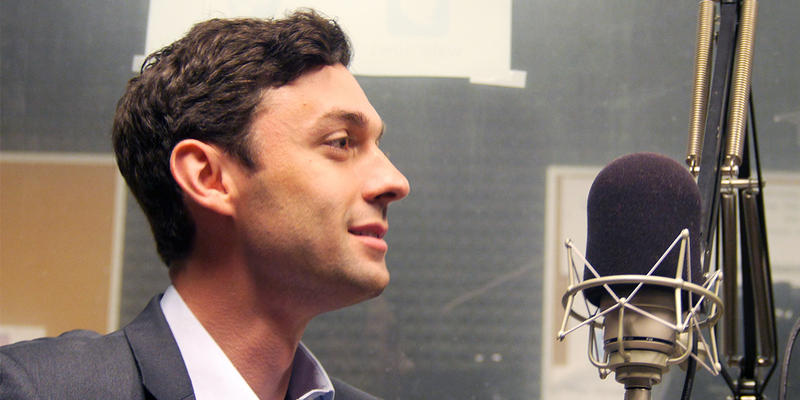 "Jon Ossoff spoke with ""Morning Edition"" Tuesday."