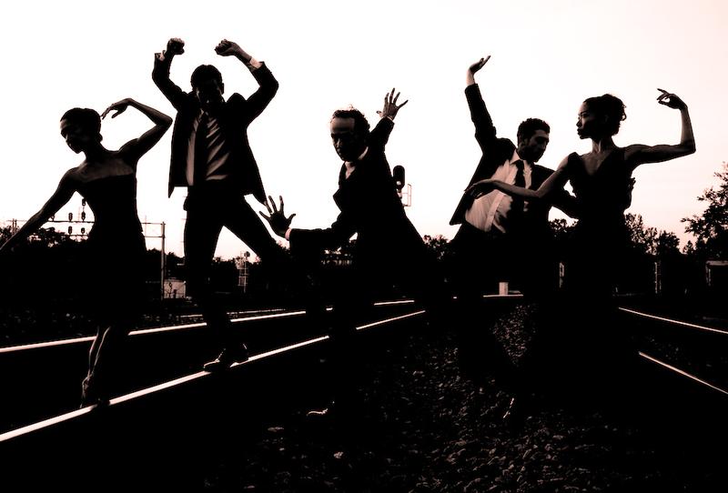 Terminus Modern Ballet Theatre is Rachel Van Buskirk (from left), Christian Clark, John Welker, Heath Gill and Tara Lee.