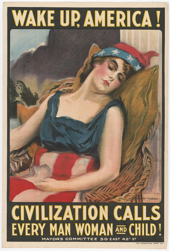 World War I posters went beyond recruitment. They were meant to sway public opinion.