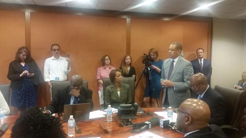 Chairman John Eaves argues why he believes the Fulton's Board of Assessors should rescind this year's property assessments pending a 30-day review.