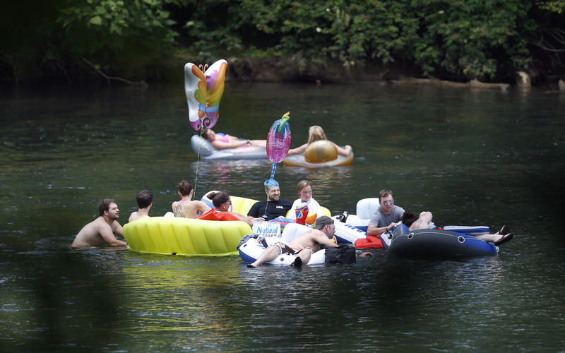 Millions of people visit the Chattahoochee National Recreation Area every year.