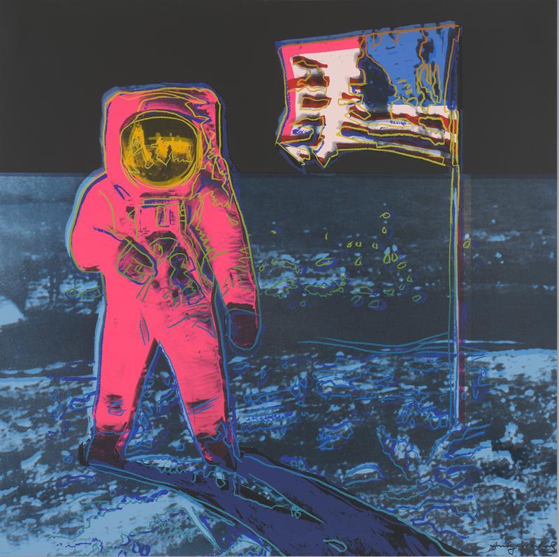 Andy Warhol (American,1928–1987),Moonwalk (II. 405), edition 150/160,1987, screenprint, 377/8 x 37 7/8inches