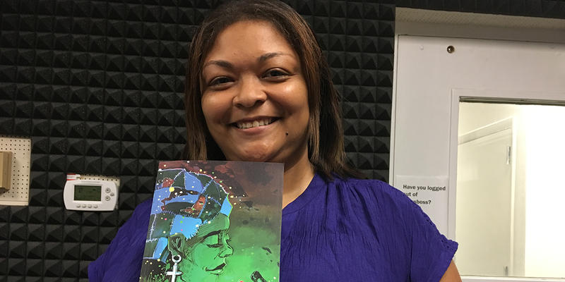 Hip-hop scholar Dr. Regina Bradley about her new collection of short stories, ''Boondock Kollage,'' today on ''City Lights.''
