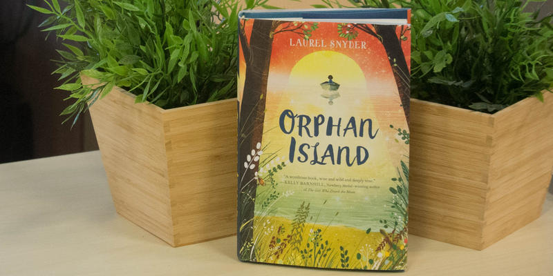 Atlanta writer Laurel Snyder is among those up for the National Book Award for Young People's Literature for ''Orphan Island.''