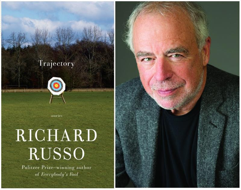 "Richard Russo reads from ""Trajectory"" this evening at the Margaret Mitchell House."