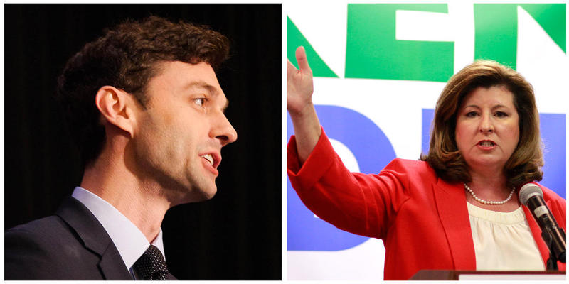 Democrat Jon Ossoff and Karen Handel have agreed to two debates before the 6th Congressional District runoff June 20.