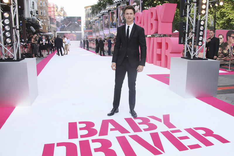 Actor Ansel Elgort poses for photographers upon arrival at the premiere of the film 'Baby Driver' in London, Wednesday, June 21, 2017.