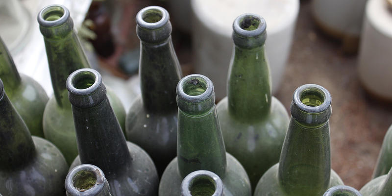 DeKalb County is opening 16 stations where you can drop off glass to be recycled this month.
