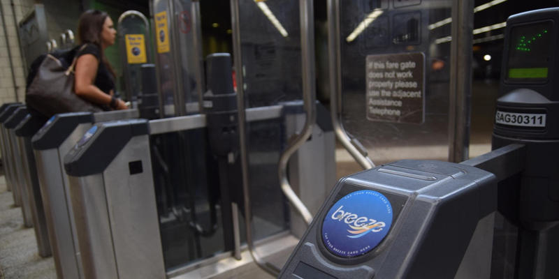 MARTA's Assistant General Manager of Technology, Ming Hsi, talks about MARTA's recent move away from its blue Breeze card.
