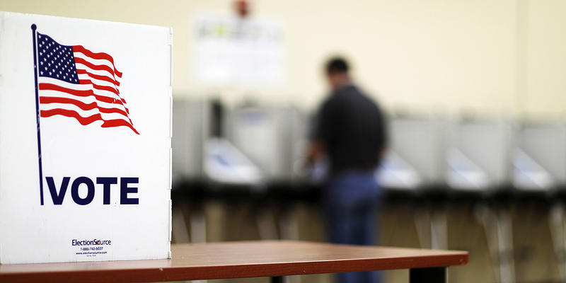 Georgia's ACLU says Fulton's Board of Registration and Elections didn't provide enough public notice before making the changes, and that violates state law.