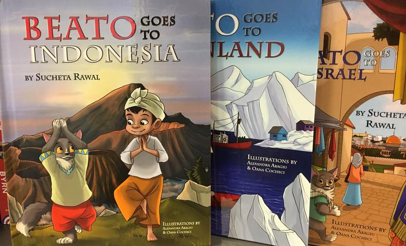 ''Beato Goes To Indonesia'' is the third in Sucheta Rawal's series of children's books.