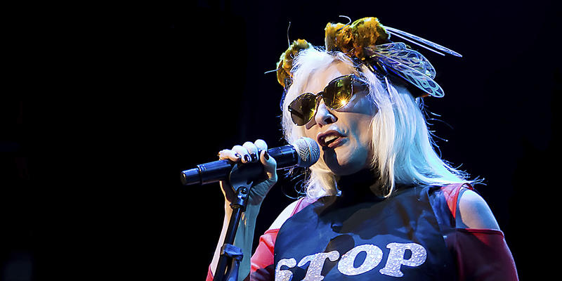 Blondie and Garbage are rocking Chastain Park Amphitheatre Sunday, Aug. 6.