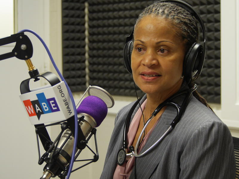 """Dr. Denise Bell-Carter stopped by """"Closer Look"""" to talk about health checkups as part of our health and wellness series."""
