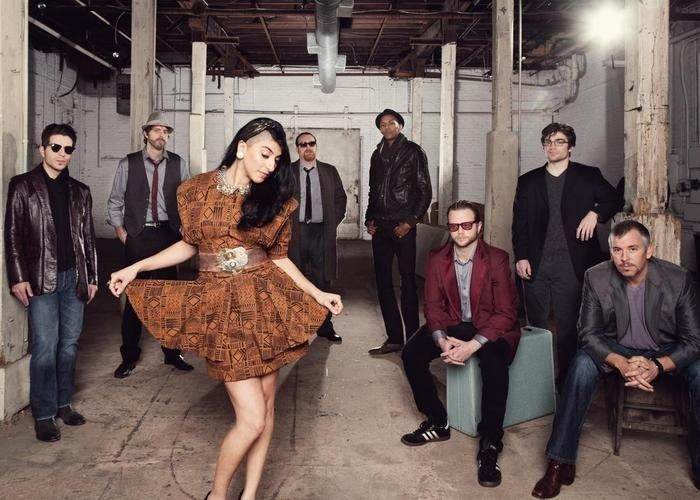 Ruby Velle and the Soulphonics perform at Grant Park's Summer Shade Festival this weekend.