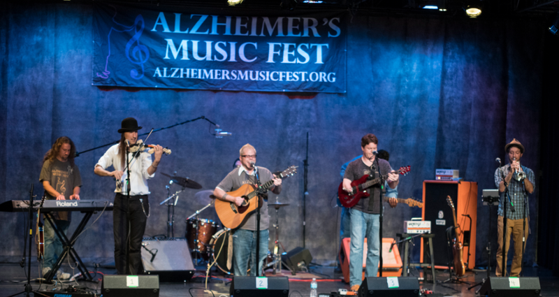 Vince Zangaro and his band perform at last year's Alzheimer's Music Fest.