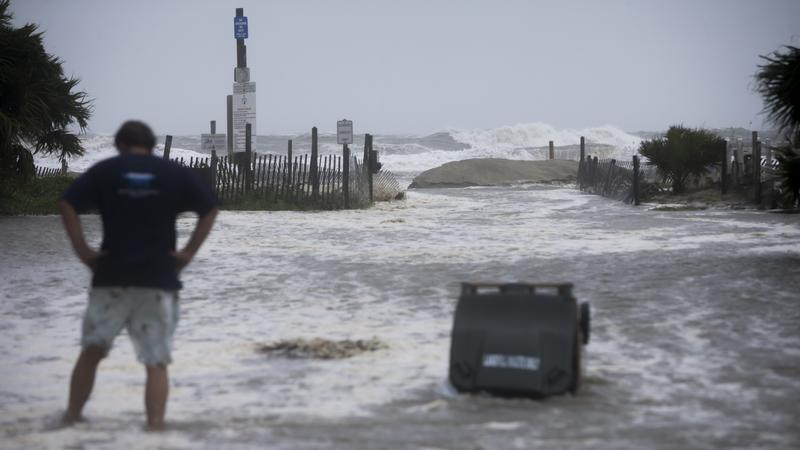 """Georgia Gov. Nathan Deal said Tuesday that Irma was a """"different kind of natural disaster"""" for the state, and he urged all evacuees to have patience."""