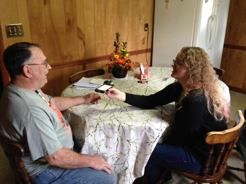 In 2015, Rhiannon Leonard interviews her boss, Gary Himes, in Weverton, Maryland, for StoryCorps' Great Thanksgiving Listen oral history project. The Great Thanksgiving Listen will be held for a third year in 2017.