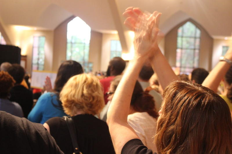 """On Aug. 28, women activists, politicians, psychologists, ministers and scholars came together at Ebenezer Baptist Church to discuss how to """"Bridge the Racial Divide Across Urban, Suburban, and Rural America."""""""