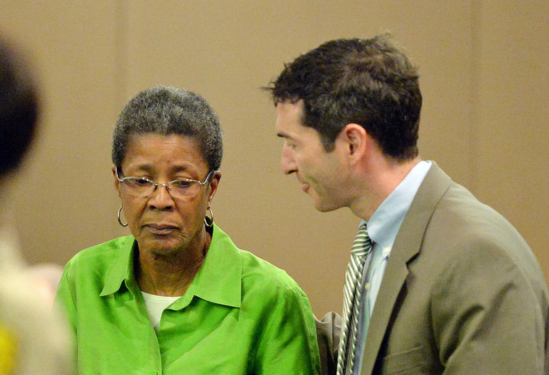 Dessa Curb, a former teacher at Dobbs Elementary School, was the only one out of the 12 to be acquitted.