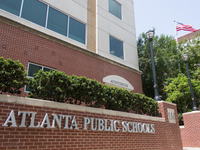 Atlanta Public Schools Headquarters in Atlanta, Ga. on July 7, 2015.