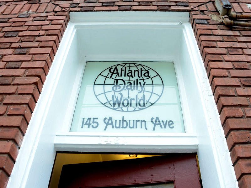The Atlanta Daily World entrance